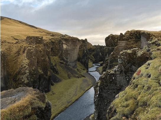Fjaorarglijufur Iceland