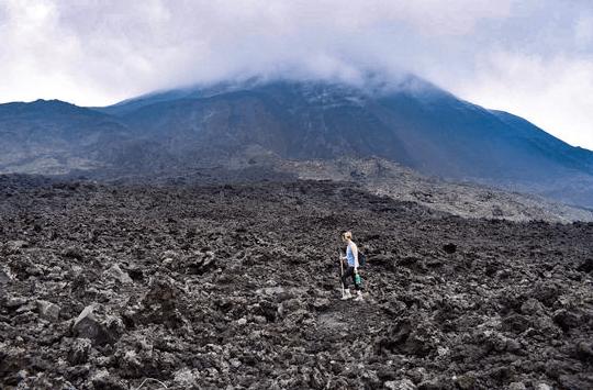 volcano hike Guatemala