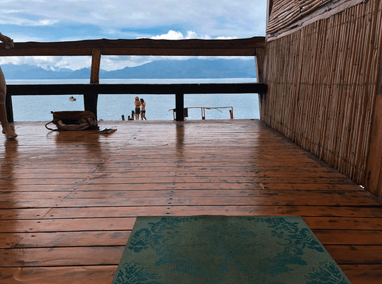 yoga in Guatemala