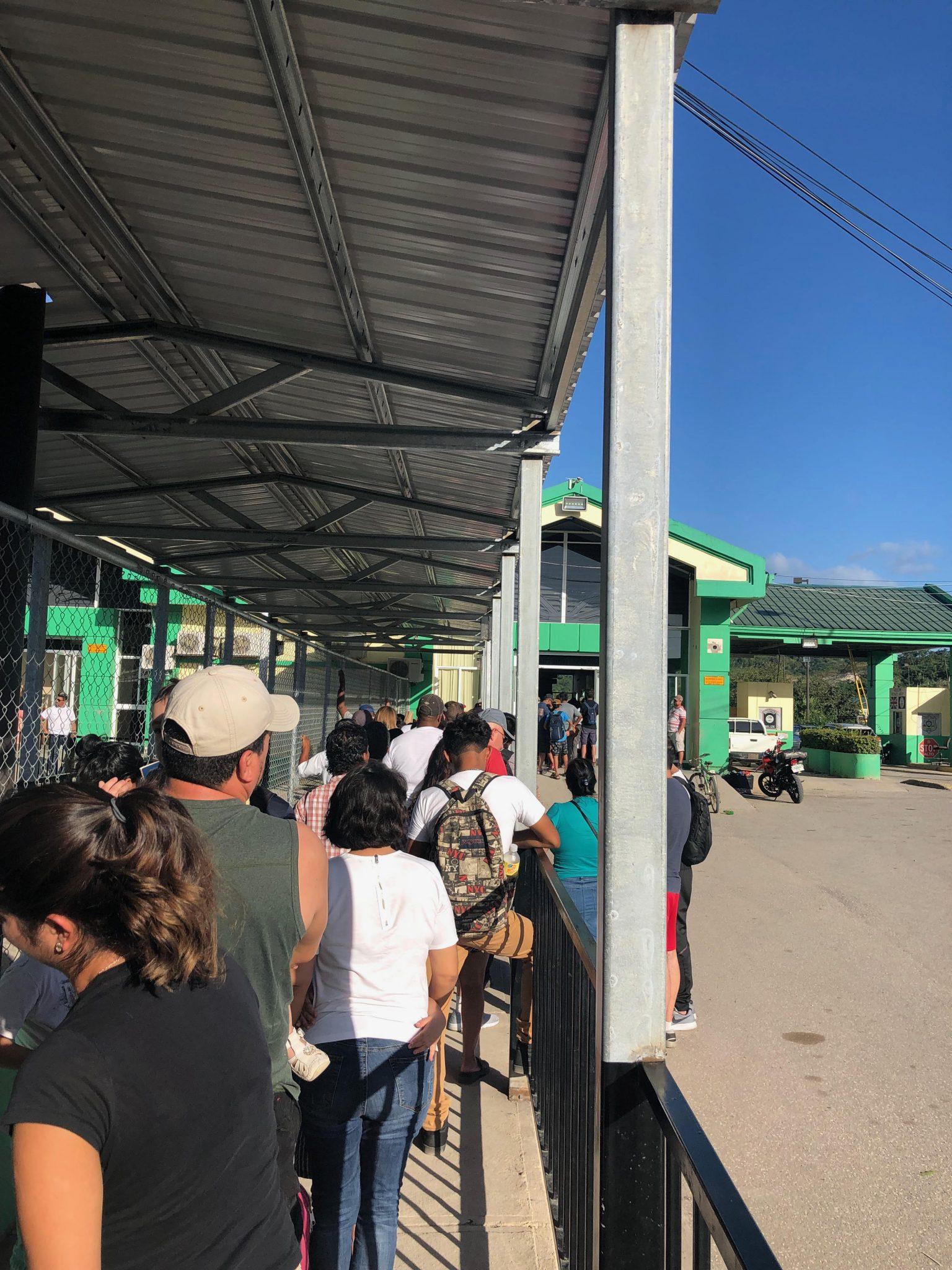 belize Guatemala border