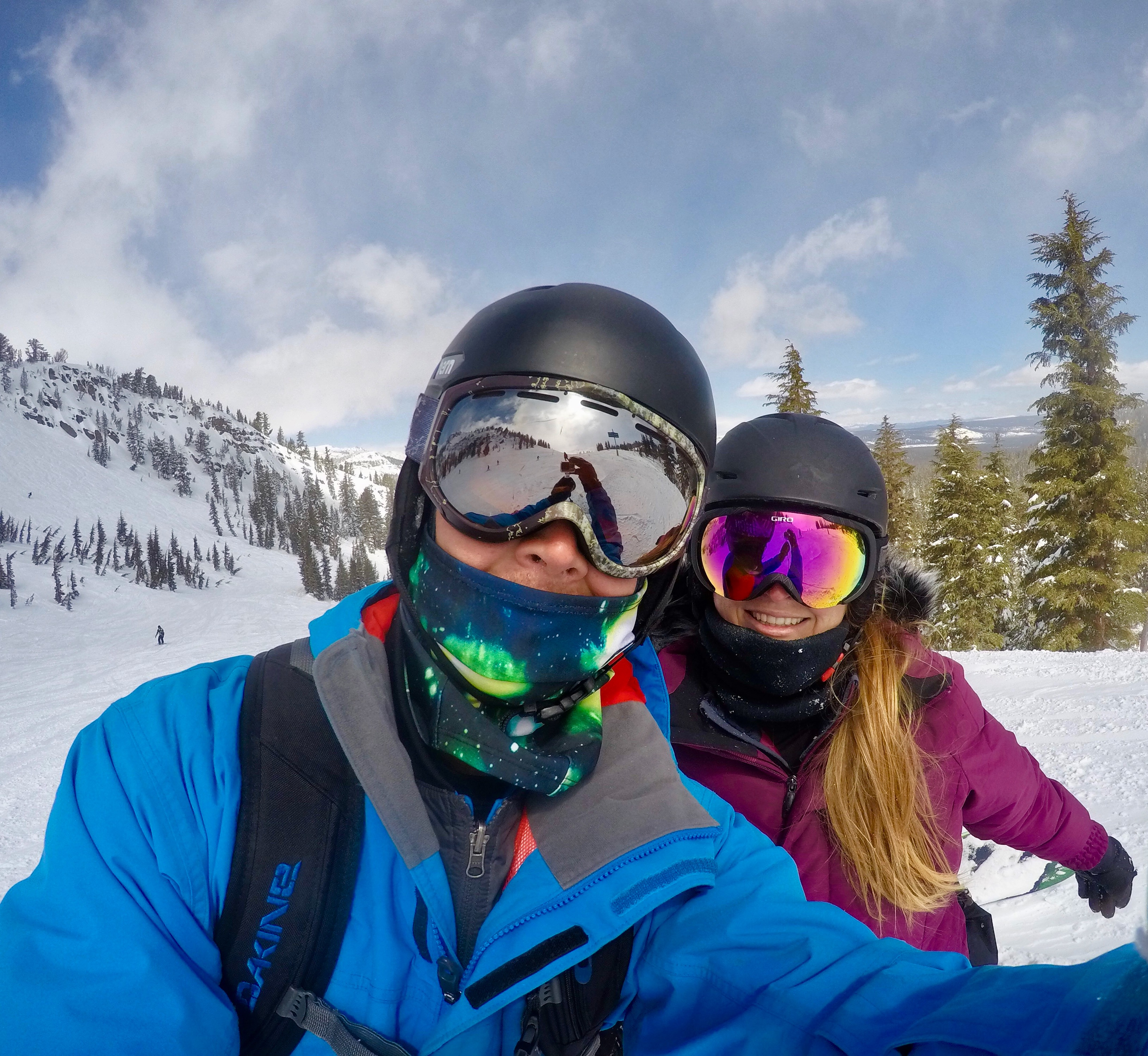 snowboarding mammoth mountain