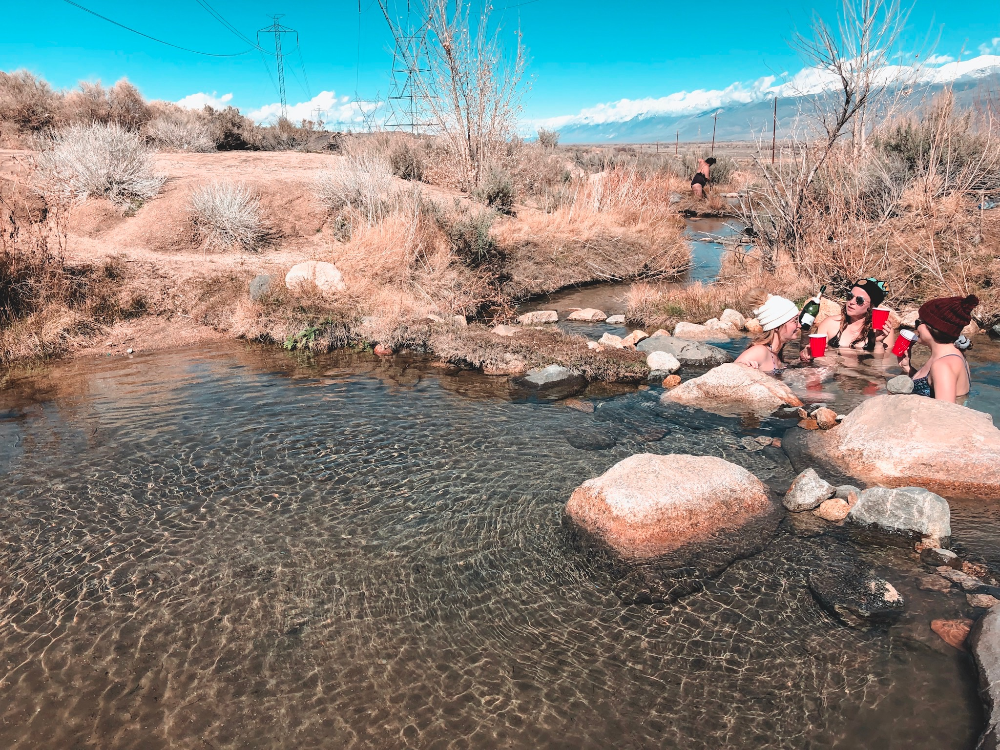 Keough hot spring