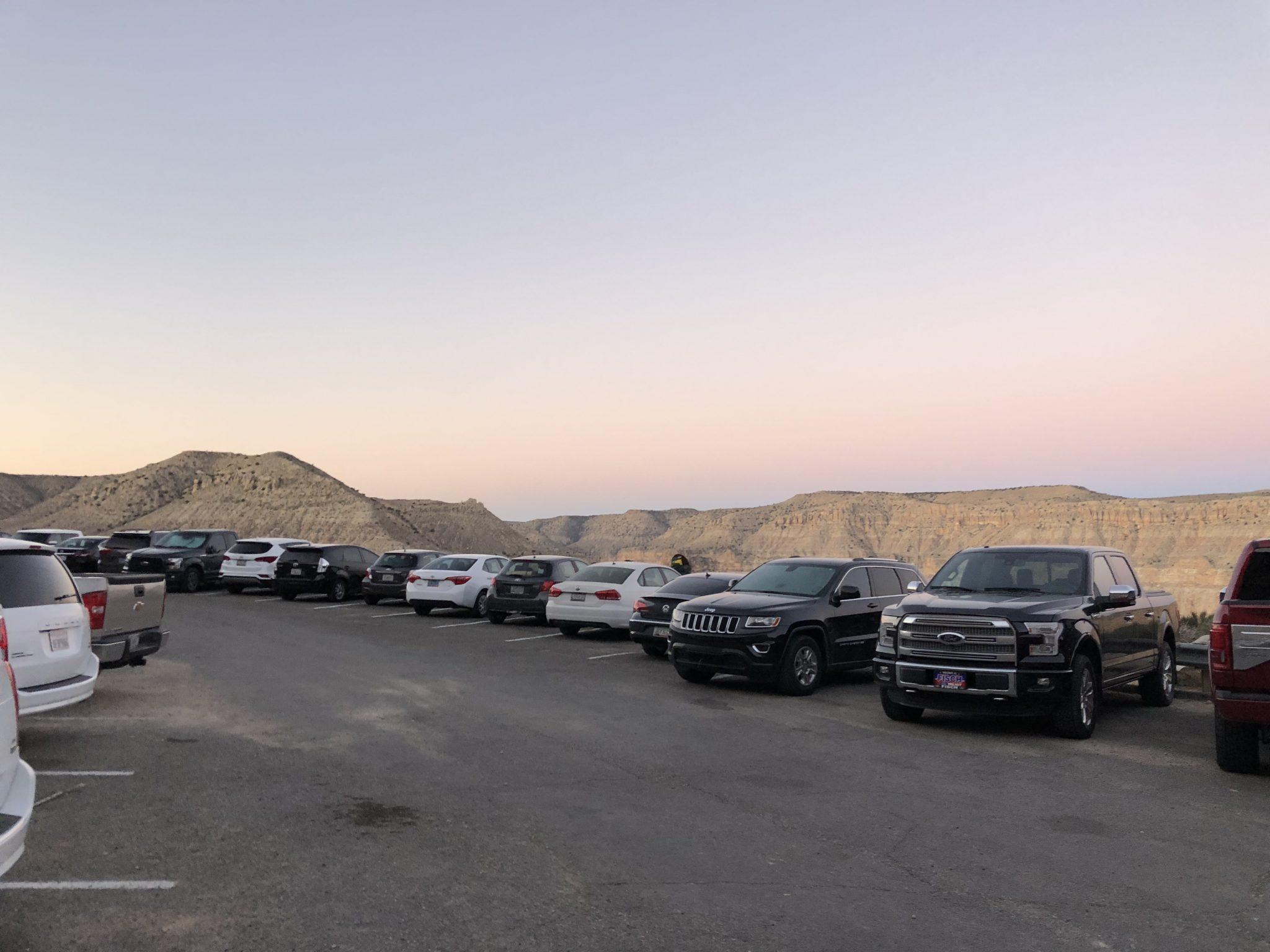 hualapai hilltop trailhead