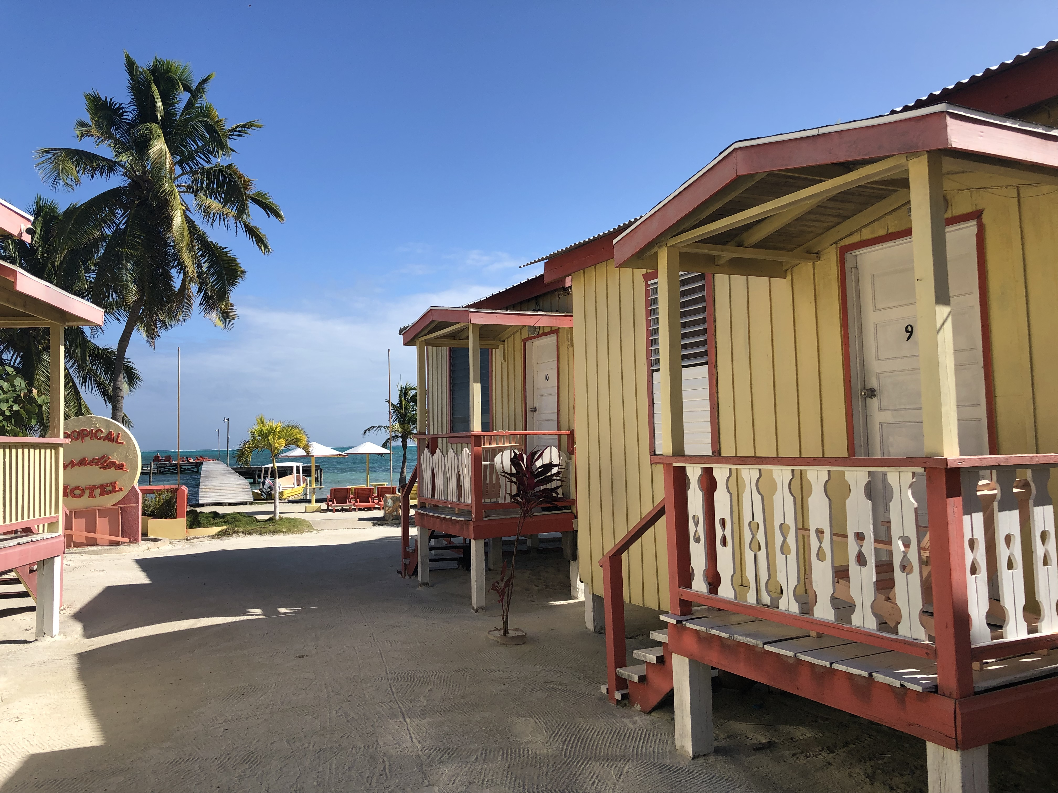 where to stay in Caye Caulker