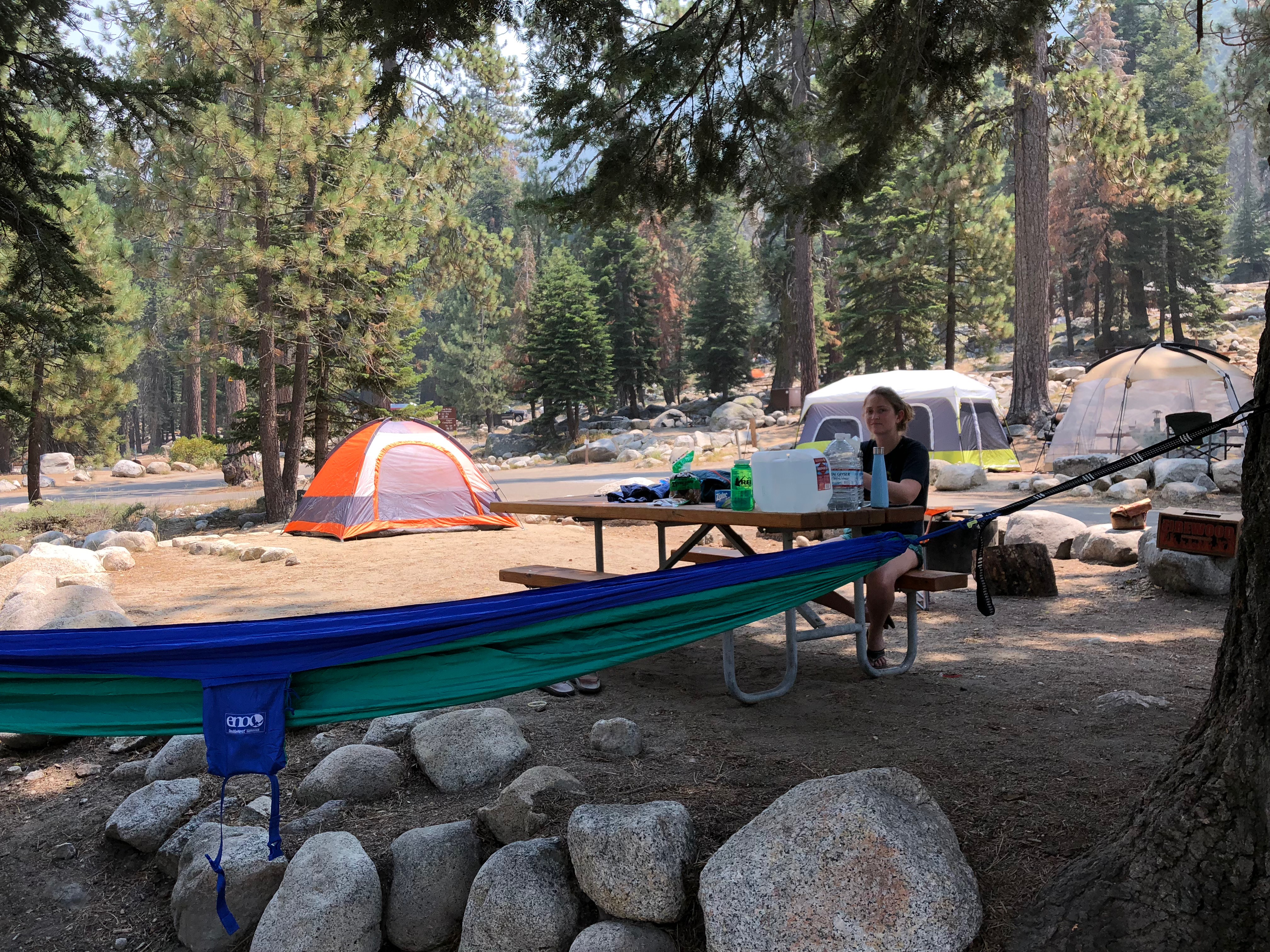 Lodgepole Campground sequoia