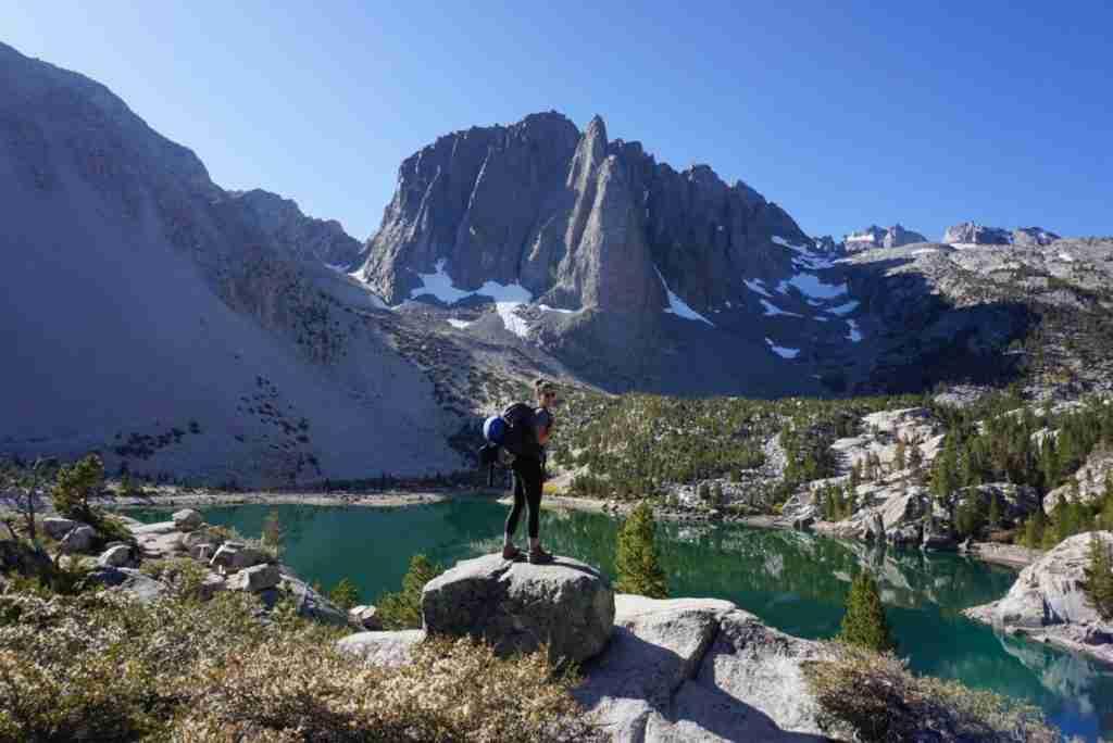 big pine lakes camping