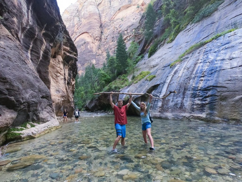 tips for the narrows ZIon national park