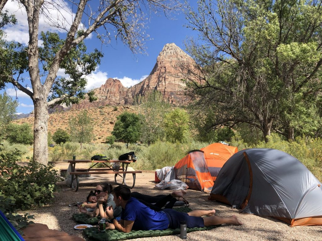 where to stay at zion national park
