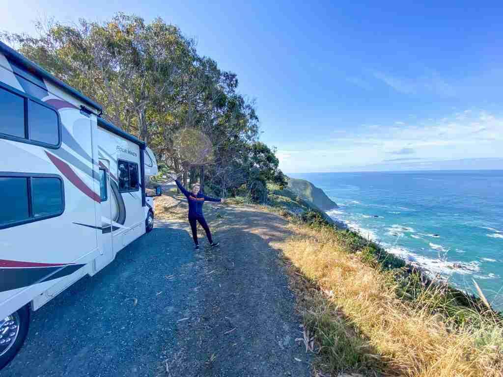 camping in big sur