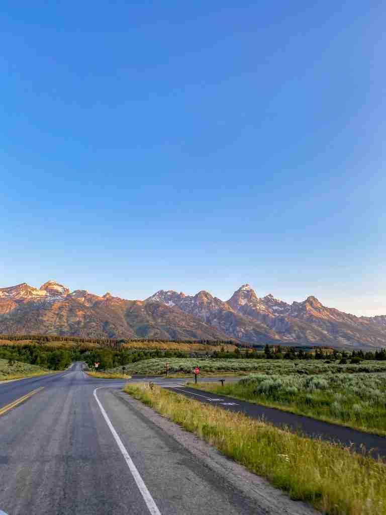 scenic drive grand teton