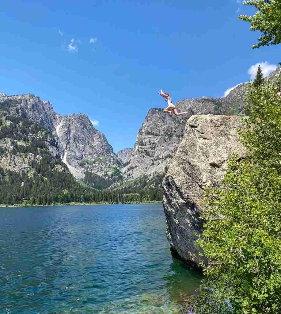 phelps lake jumping rock