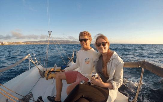 sailing Redondo Beach