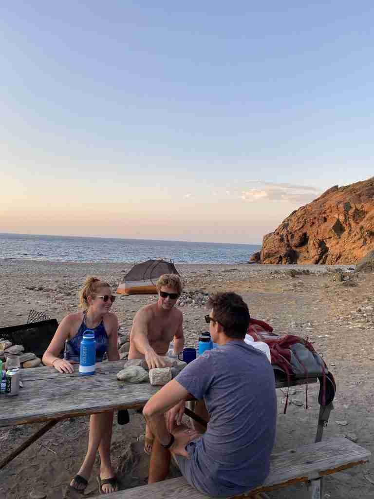 catalina island camping