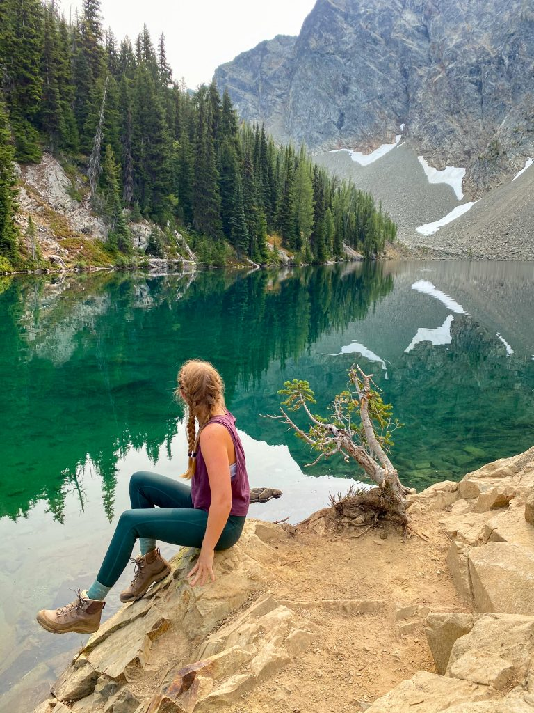 blue lake north cascades