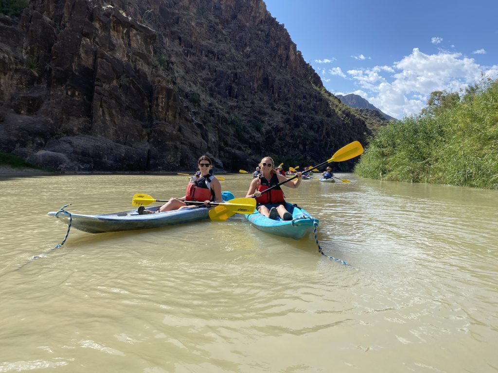 big bend itinerary