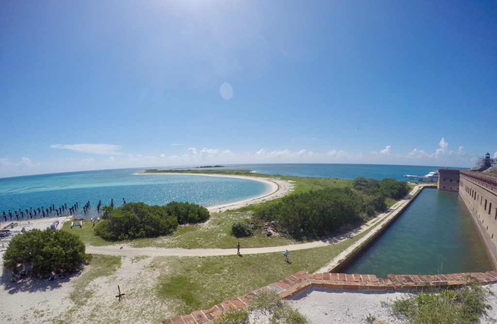 dry tortugas by seaplane
