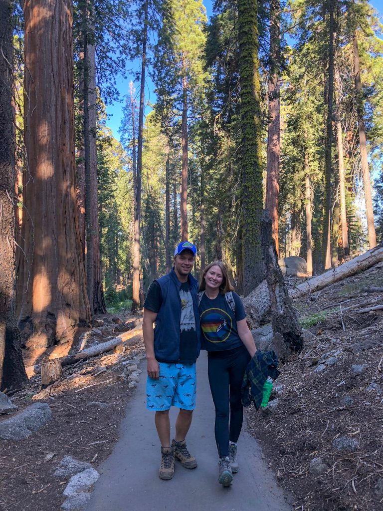 sequoia national park itinerary