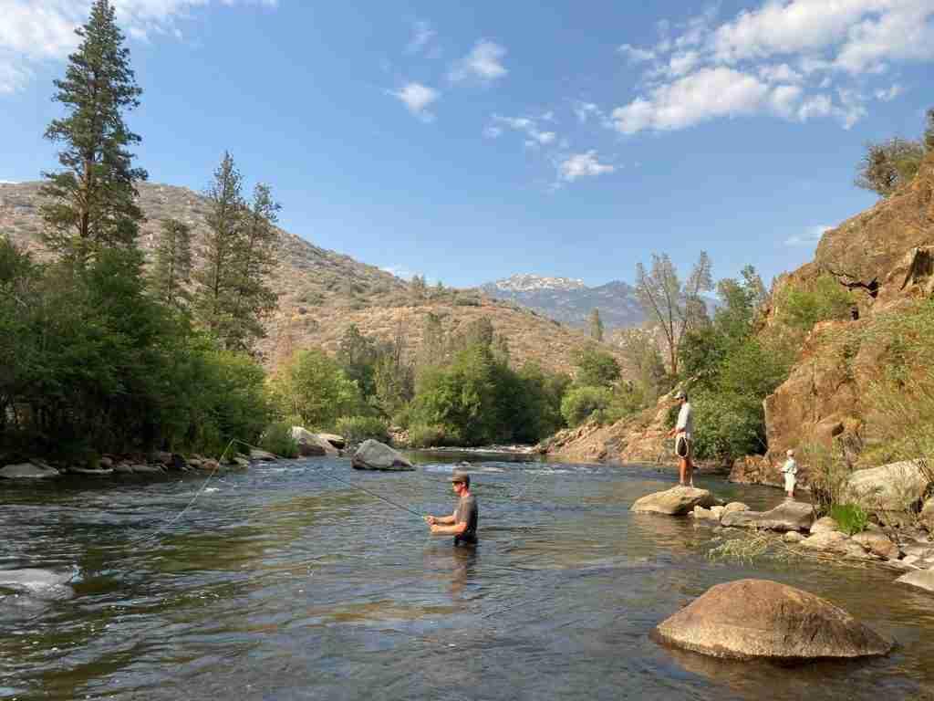 kern river camping trip. fly fishing