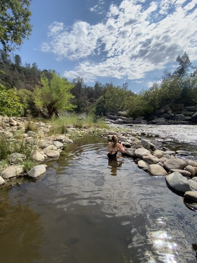 kern river camping trip